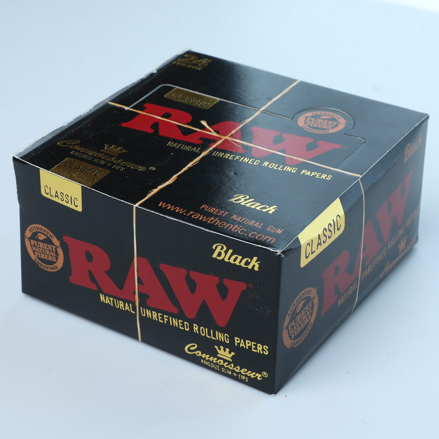 Raw Classic Black Connoisseur King Size Slim
