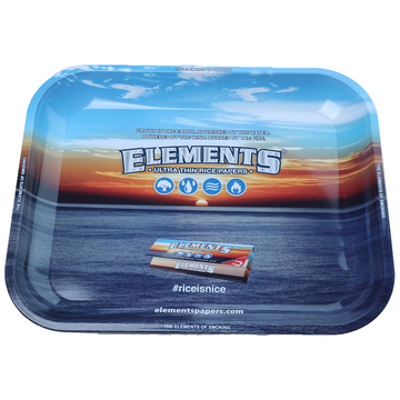 Elements Blue Rolling Tray - Large