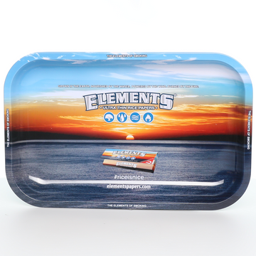 Elements Blue Rolling Tray - Small