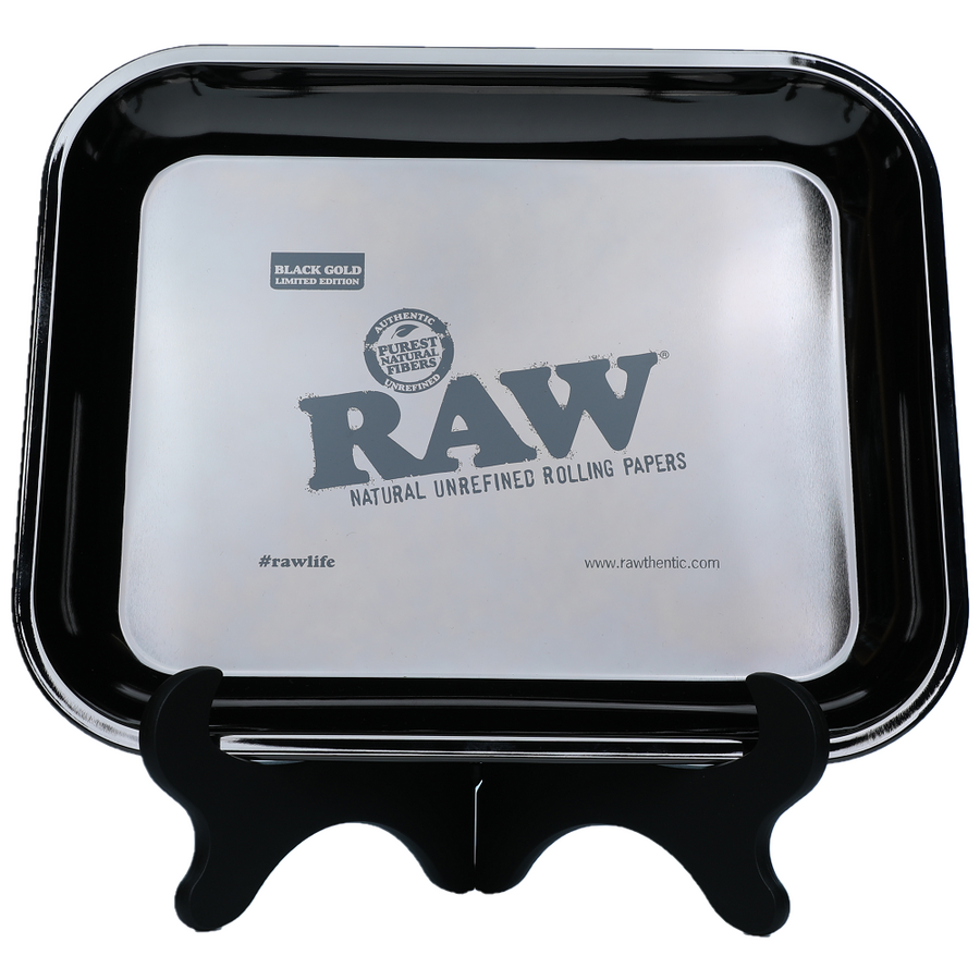 Raw BLACK GOLD LIMITED EDITION Rolling Tray