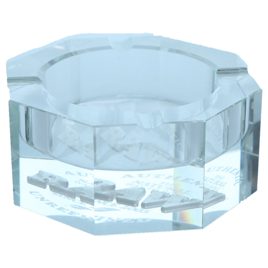 Raw Lead-Free Crystal Glass Ashtray