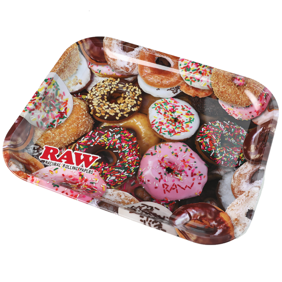 Raw Donuts Rolling Tray Large