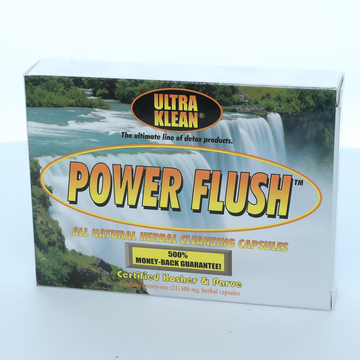 Ultra Klean Power Flush Herbal Cleansing Detox Capsules