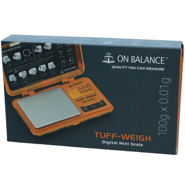 On Balance Tuff Weigh 100 0.01g scales
