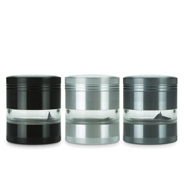 Aluminium Jar 4-part Grinder - 55mm