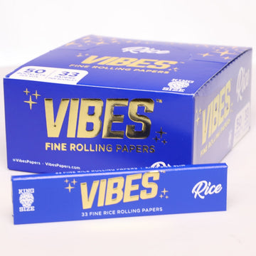 Vibes Rice King Size Slims