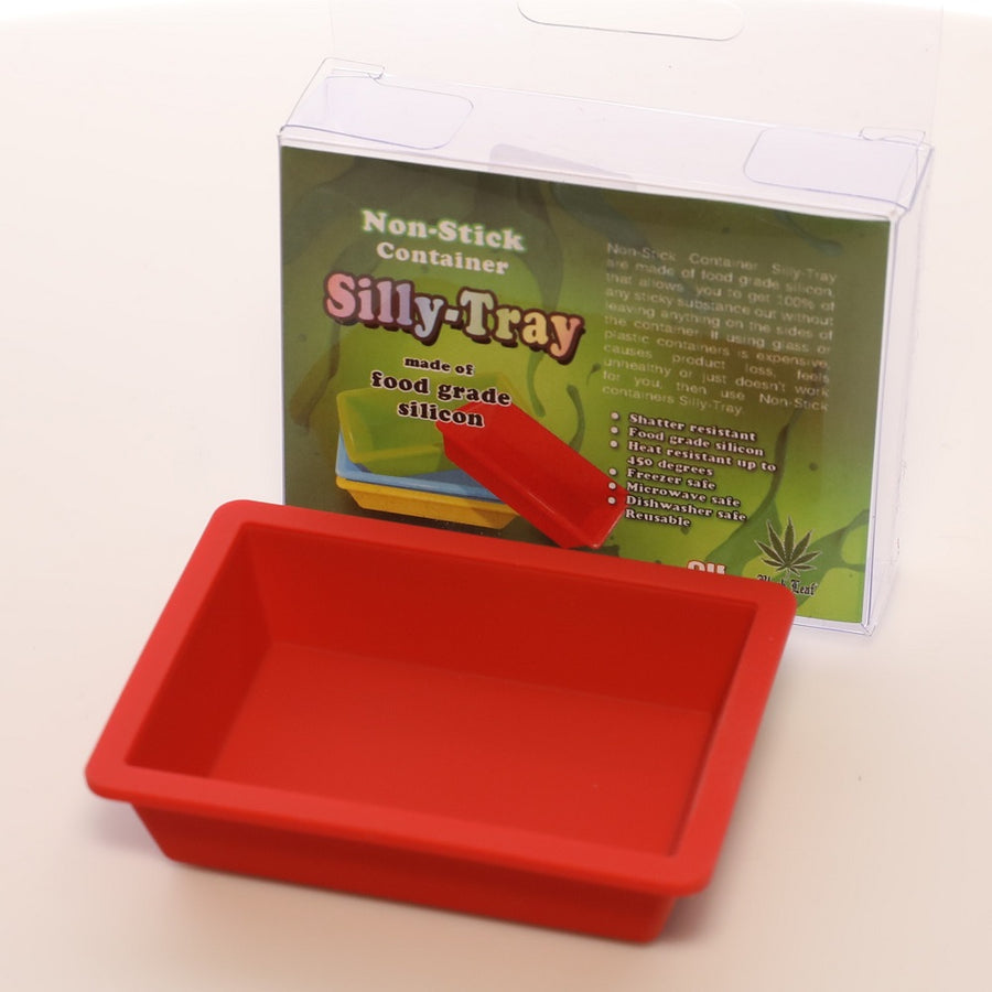 Black Leaf Non Stick Mini Silicone Tray