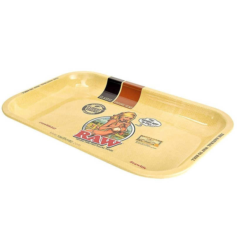 Raw Bikini Girl Rolling Tray - Medium