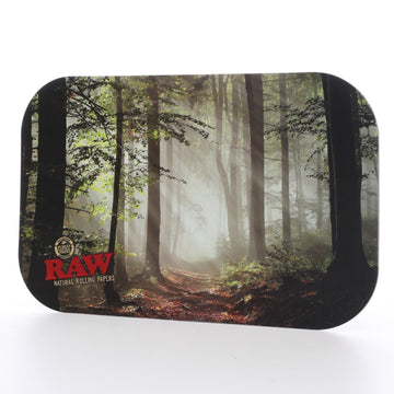 Raw Forest Magnetic Cover for Rolling Tray - Medium