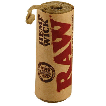Raw Hemp Wick - 6 metre