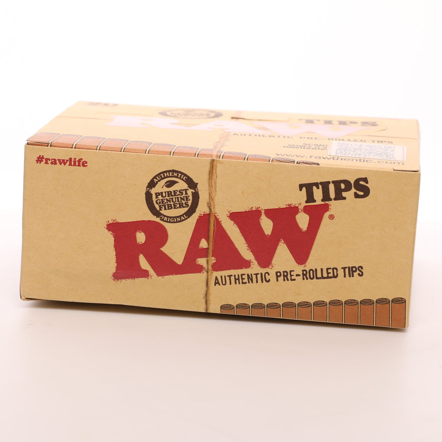 Raw Pre-Rolled Natural Unrefined Rolling Tips