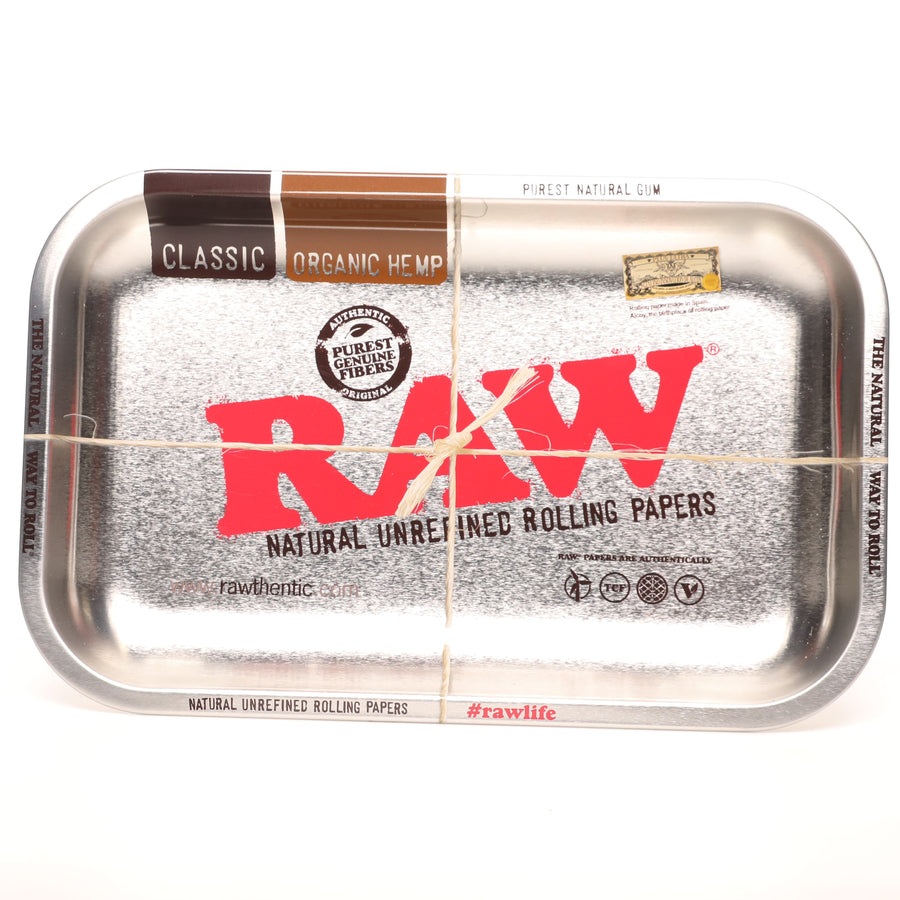 Raw Stainless Limited Edition Rolling Tray - Small