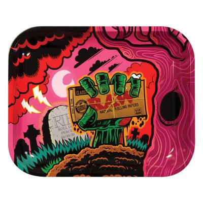 Raw Zombie Rolling Tray - Large
