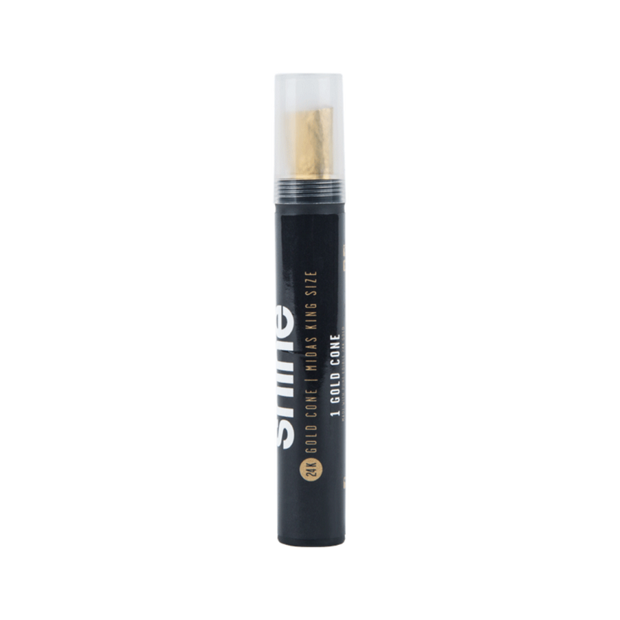 Shine 24k Gold King Size Pre-Rolled Cone