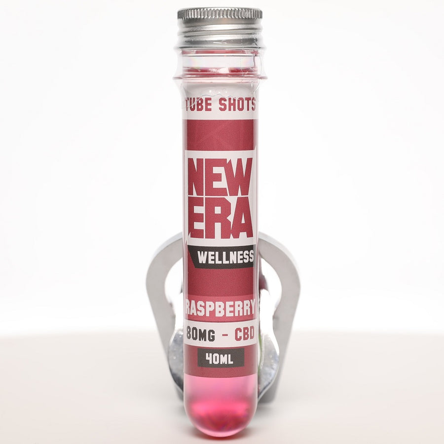 New Era Wellness CBD Tube Shots - 80mg