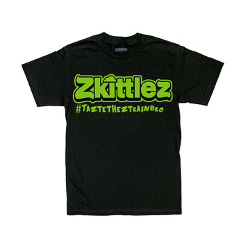 Official Zkittlez Tshirt - Neon Green