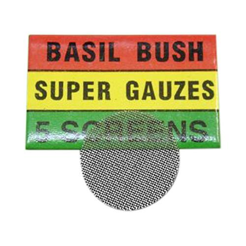 Basil Bush Steel Bong/Pipe screens