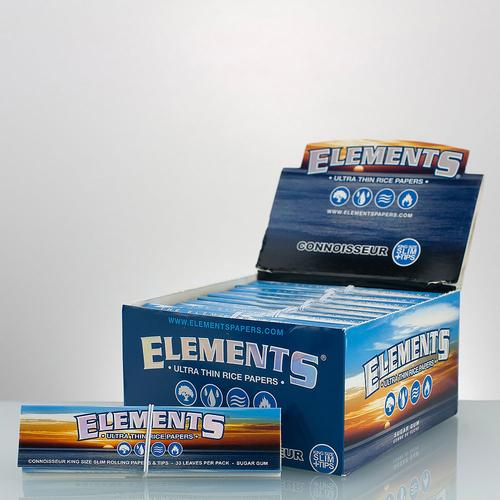 Elements Original King Size Slim Connoisseur