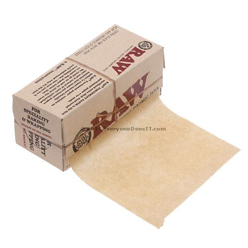 Raw Parchment Paper Small 10cm x 4m Roll