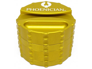 Phoenician Engineering Large 4-part Aluminium Grinder - 78mm