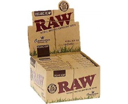 Raw Organic Hemp King Size Slim Connoisseurs