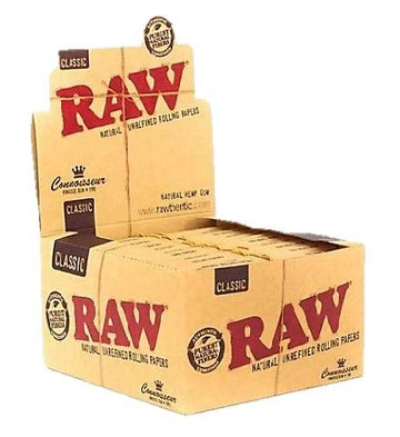 Raw Classic King Size Slim Connoisseurs