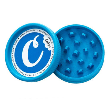 Cookies Biodegradable Hemp Grinder - 2pc