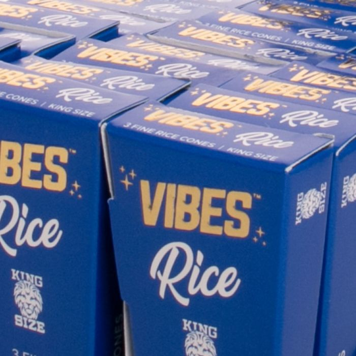 Vibes Rice King Size Cones