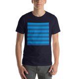 Blue Horizontal Stripe T-Shirt