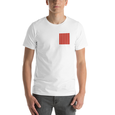 Red Chest Stripe T-Shirt