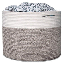 Load image into Gallery viewer, Baby Laundry Basket Woven Blanket Basket