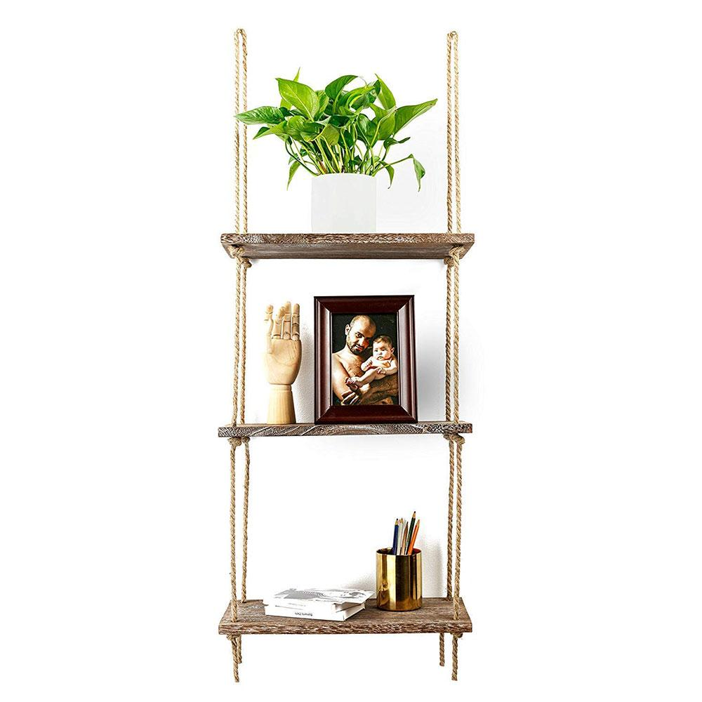 Wall Hanging Floating Shelf 3-Tier
