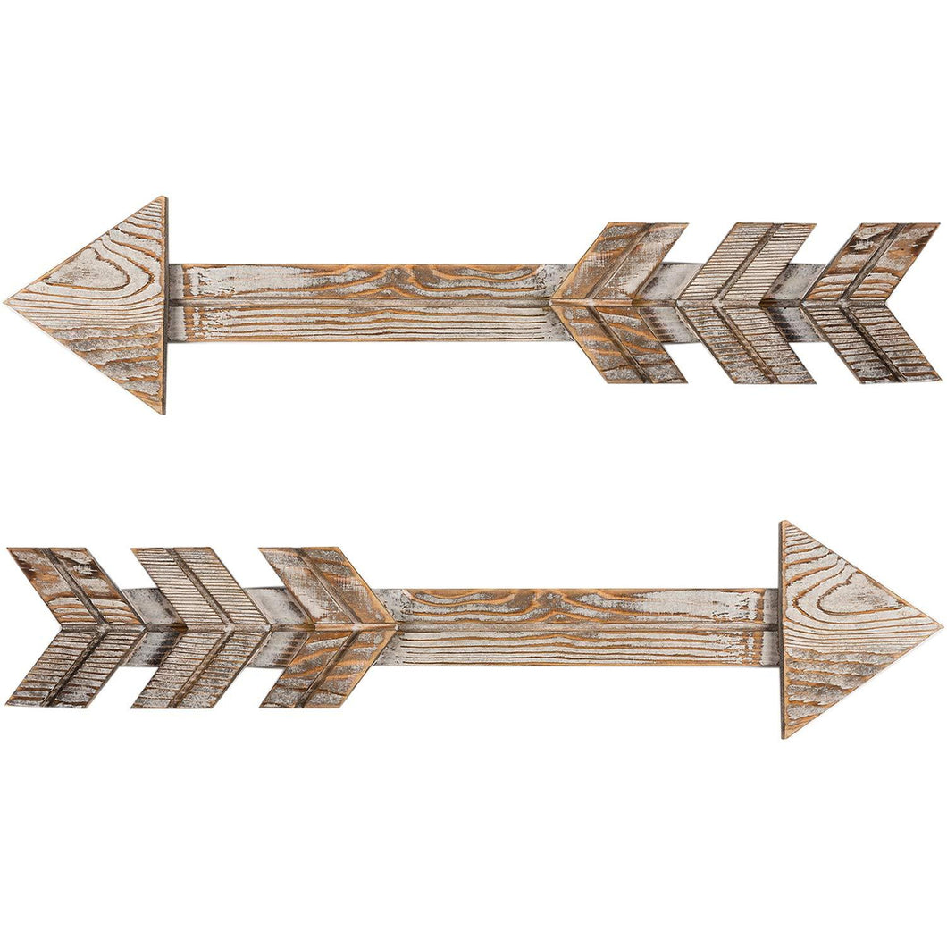 Arrow Decor Wall Sign 2 PCs
