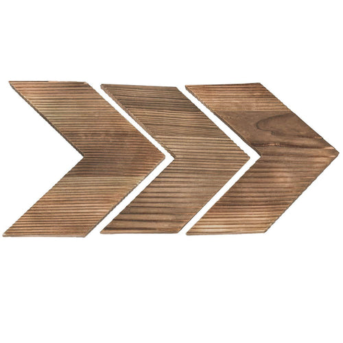 Arrow Decor Wall Sign Set of 3
