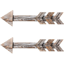 Load image into Gallery viewer, Arrow Decor Wall Sign 2 PCs