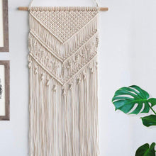Load image into Gallery viewer, Macrame Woven Wall Hanging Boho Home Dorm Wall Decor