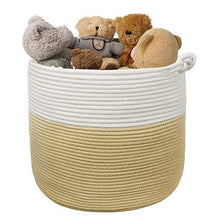 Load image into Gallery viewer, Baby Nursery Woven Basket