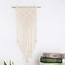 Load image into Gallery viewer, Macrame Wall Hanging Woven Tapestry Boho Wall Decor