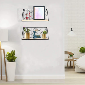 Floating Shelves Wall Mounted Set of 2