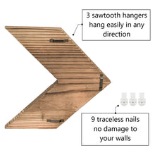 Load image into Gallery viewer, Arrow Decor Wall Sign Set of 3