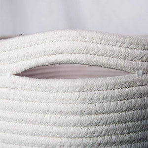 Baby Laundry Basket Woven Blanket Basket