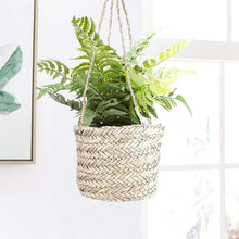 Load image into Gallery viewer, Seagrass Hanging Planter