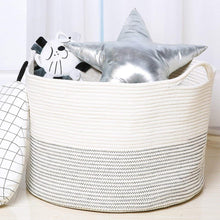 Load image into Gallery viewer, XXXLarge Rope Basket Woven Baby Laundry Storage Basket