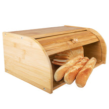 Load image into Gallery viewer, Pure Bamboo Bread Box