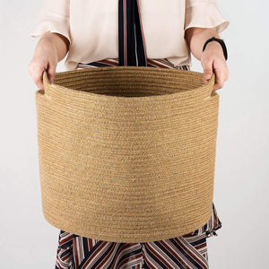 Jute Rope Storage Basket