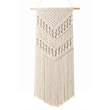 Load image into Gallery viewer, Macrame Woven Wall Hanging Bohemian Room Art Decor Thick Texture