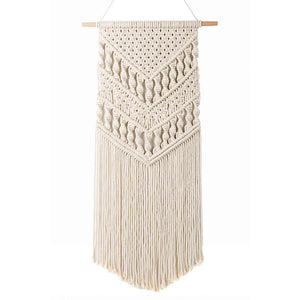 Macrame Woven Wall Hanging Bohemian Room Art Decor Thick Texture