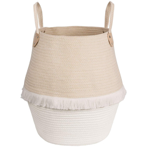 Large Woven Storage Basket with Handles