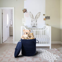 Load image into Gallery viewer, Floor Basket with Handle for Baby Nursery Decor