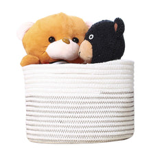 Load image into Gallery viewer, Small  Cute Cotton Storage Basket